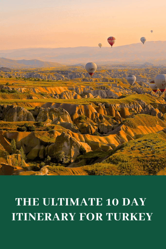 10 days turkey travel itinerary #Turkey #traveltoturkey