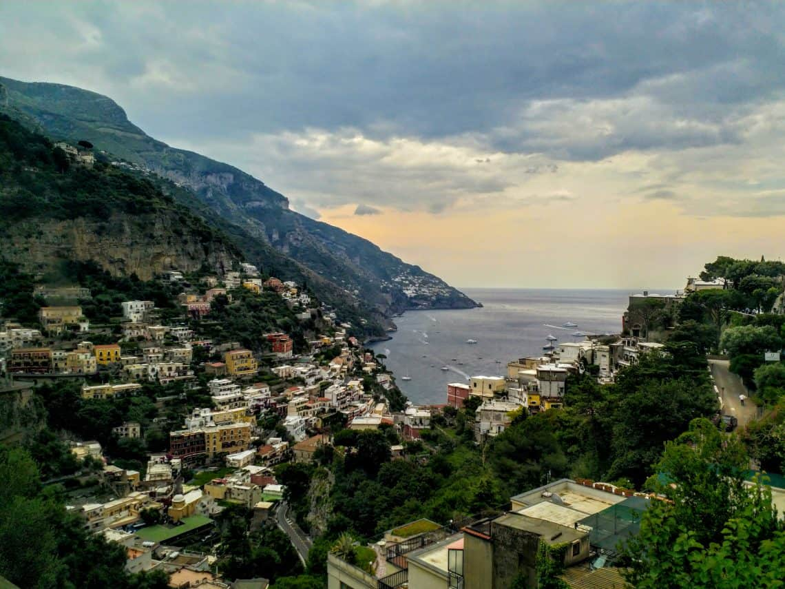 4 days itinerary to Amalfi coast