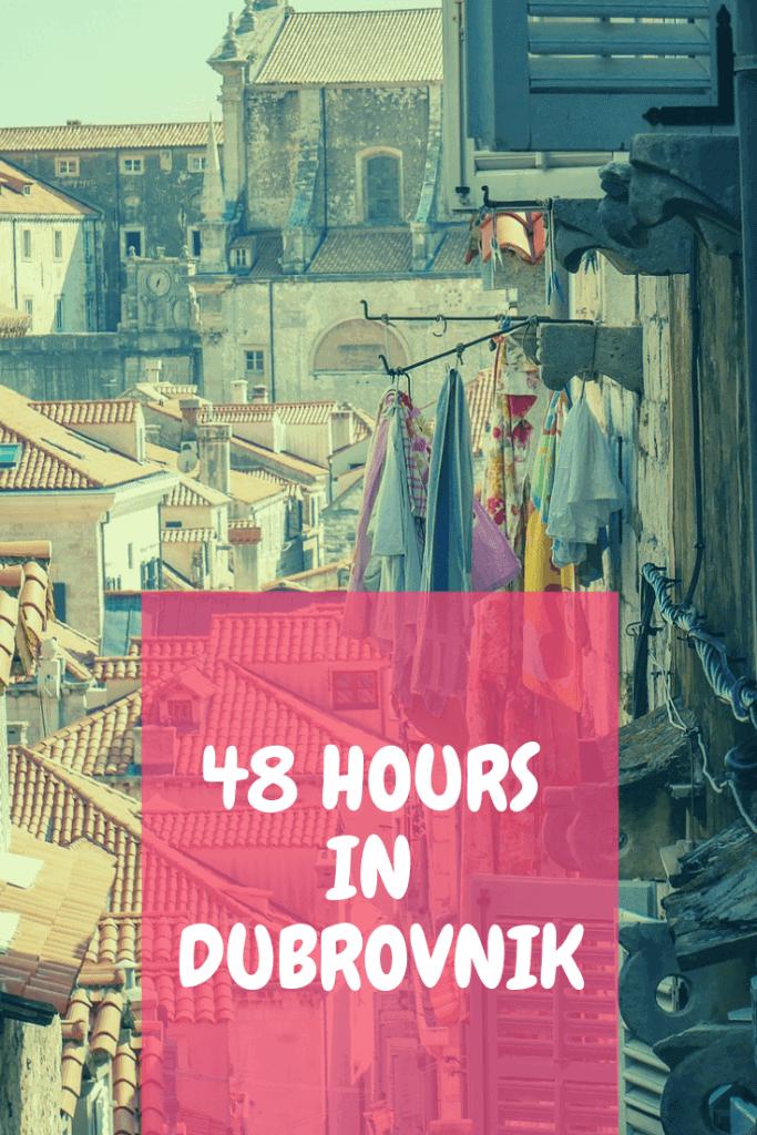 Dubrovnik in 48 hours
