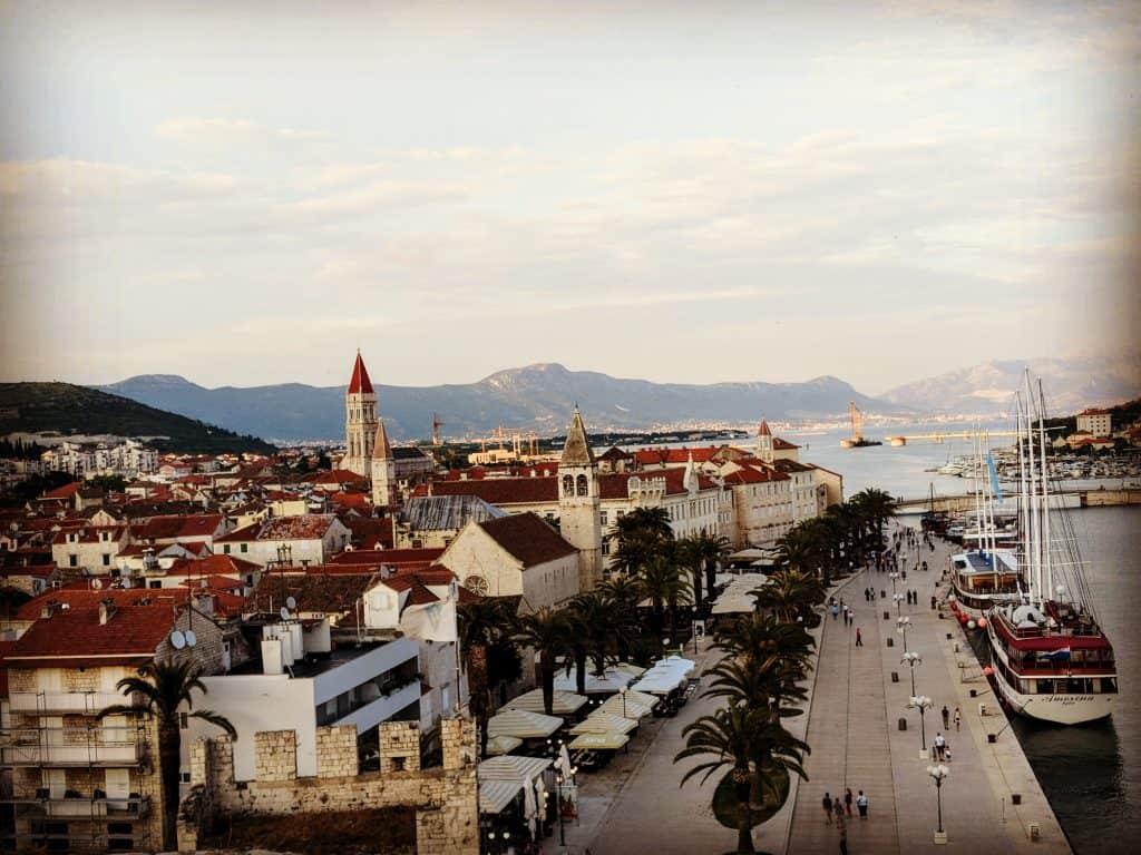 Split market Croatia itinerary