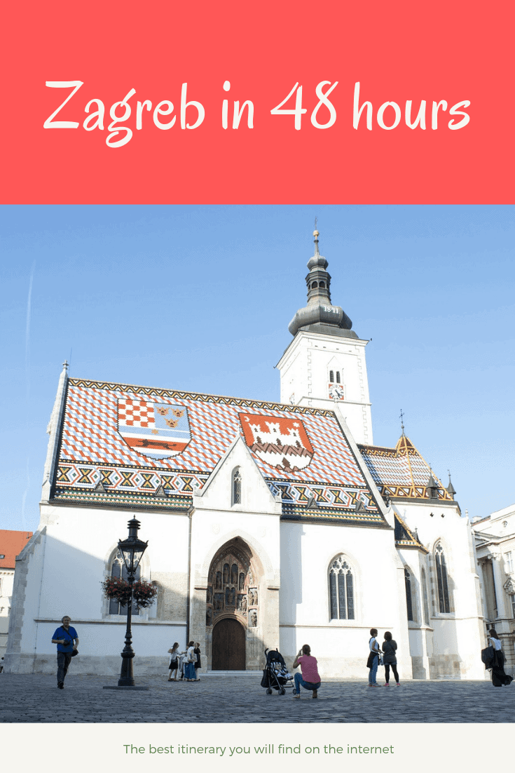 Zagreb travel itinerary 48 hours