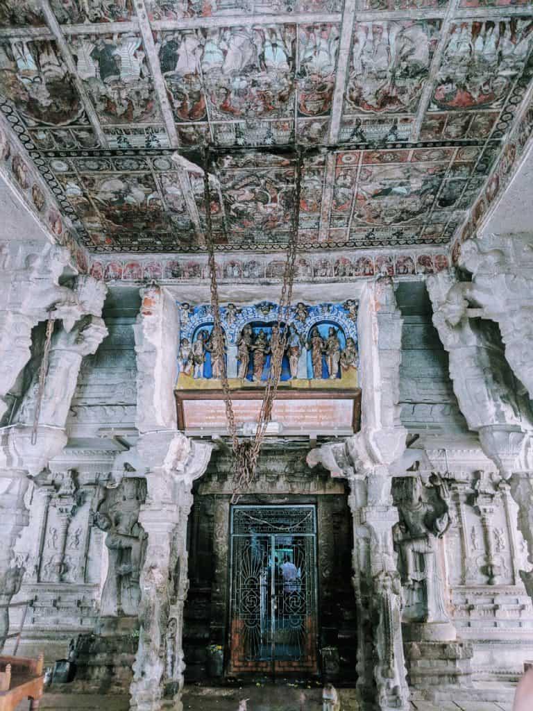 Hampi stone structures historical UNESCO monument