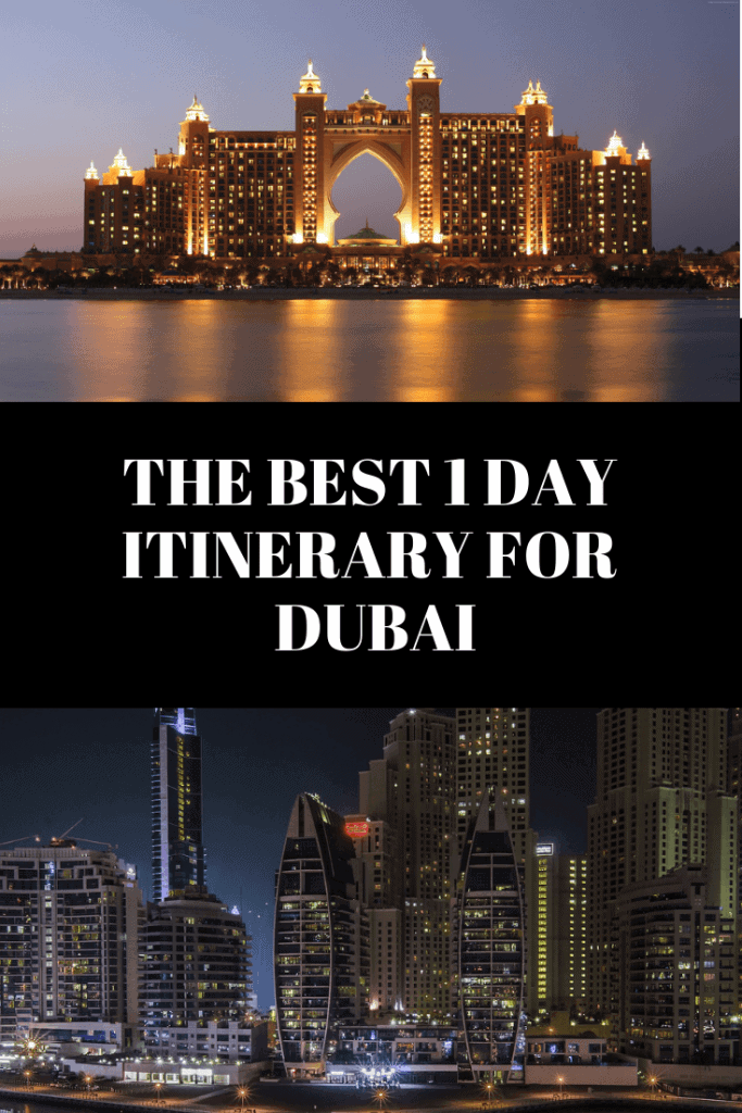 24 hours in Dubai travel itinerary #Dubai #Dubaitravel