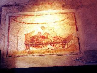 Pompeii Brothel pictures Campania itinerary