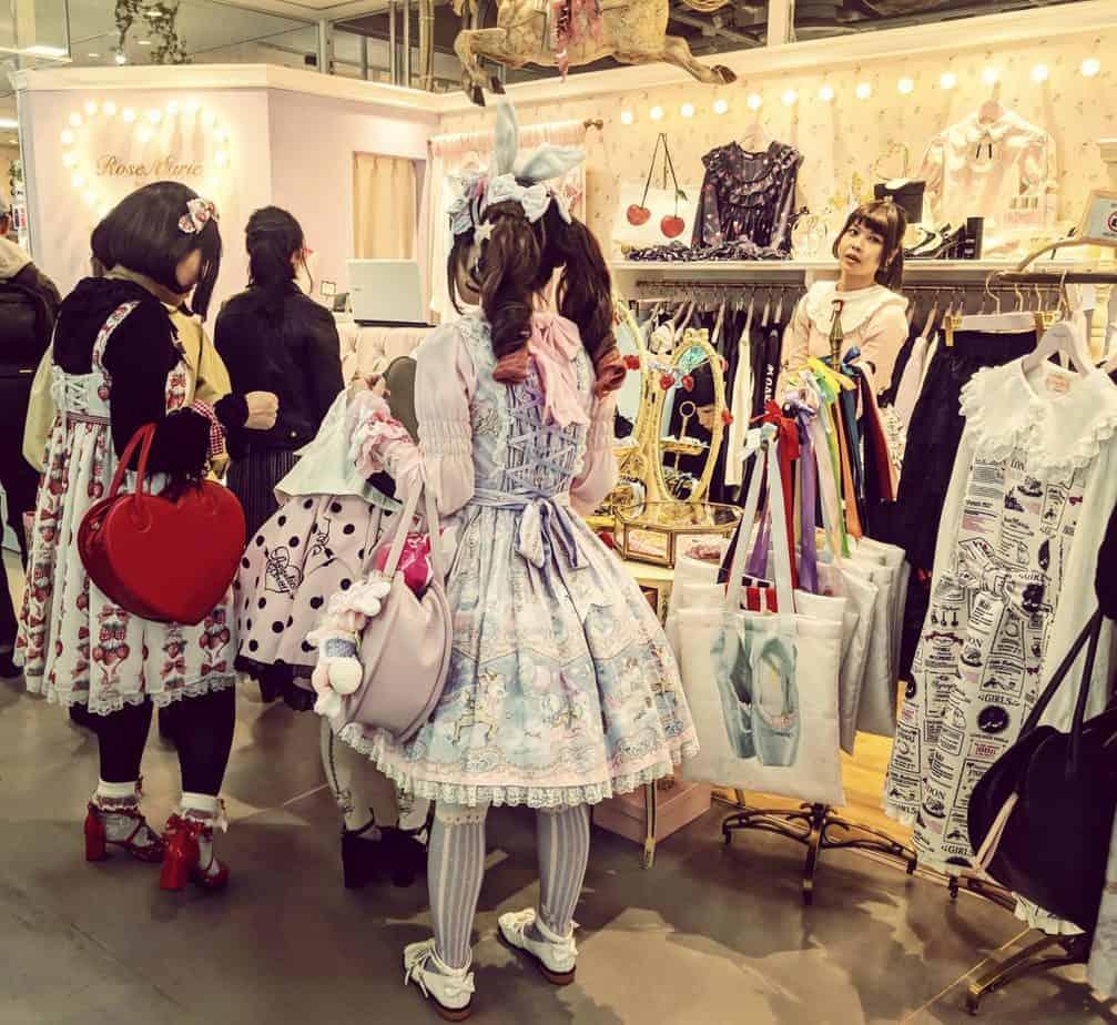 Harajuku fashion Tokyo
