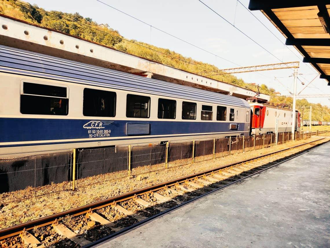 Train Travel in Romania