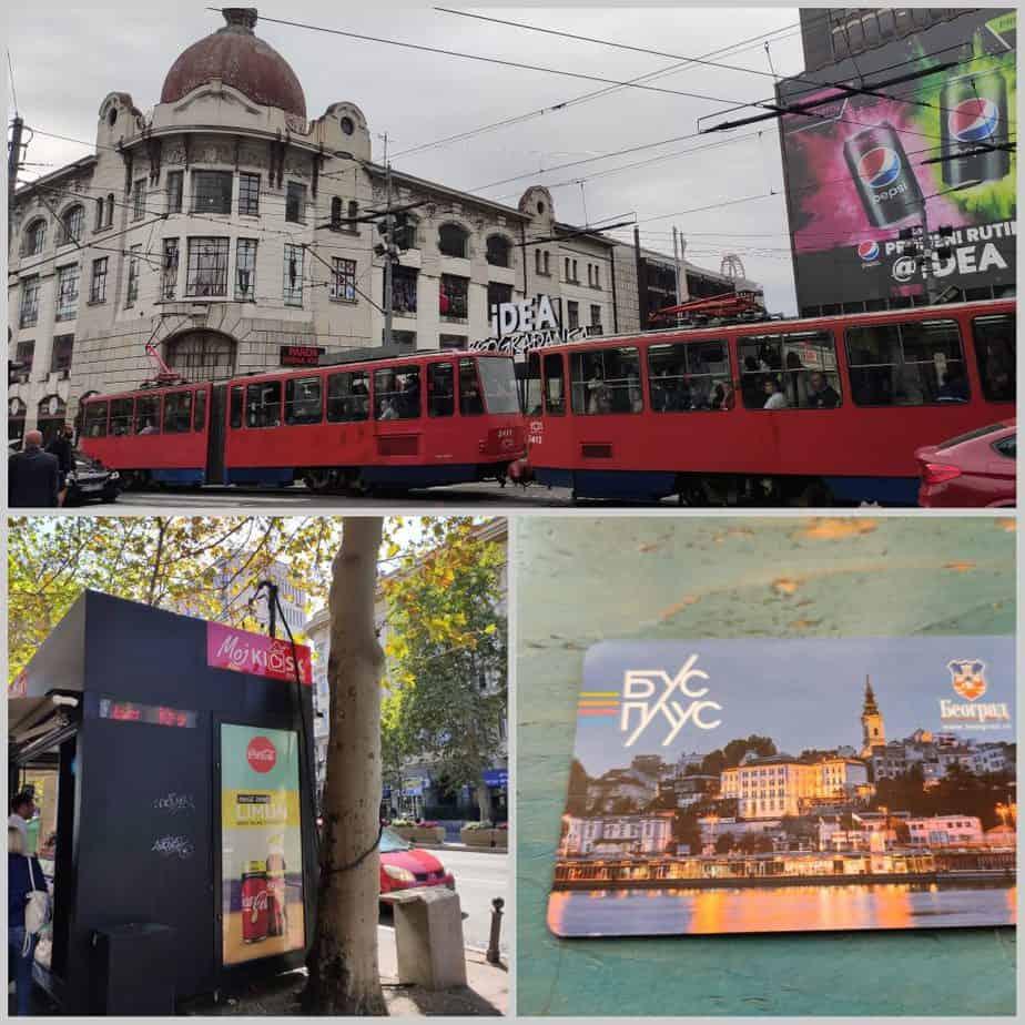 3 days in Belgrade Transportation