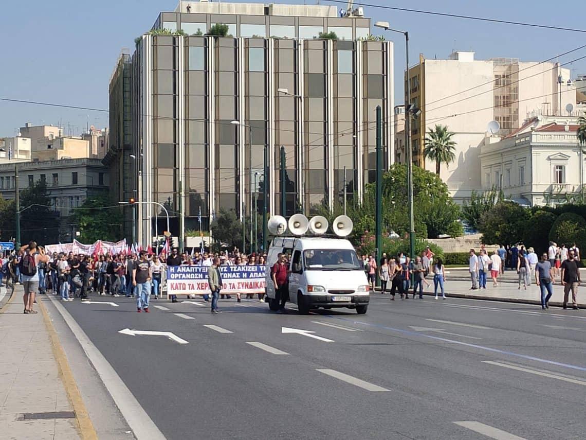 48 hours in Greece Transport strike