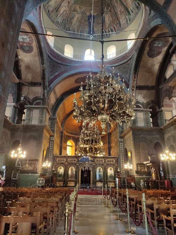 24 hours in Thessaloniki Church of Hagia Sophia