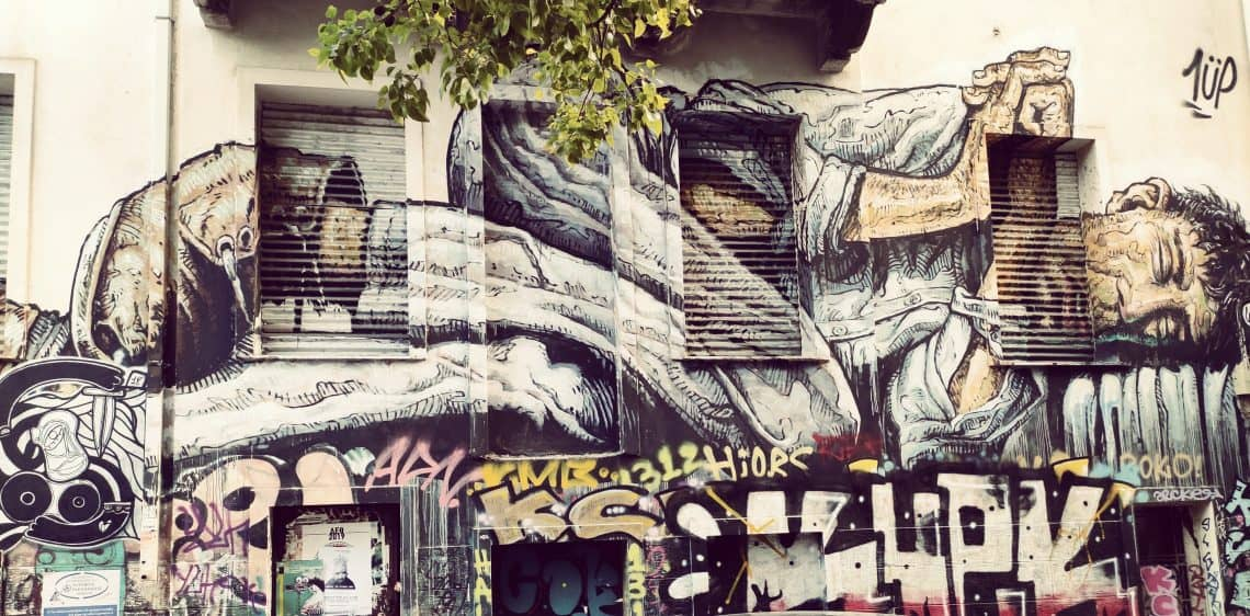 48 hours in Athens Exharchia graffiti