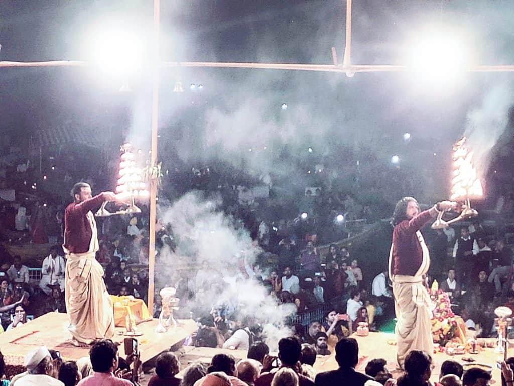 48 hours in Varanasi Dashashwamedh Ghat