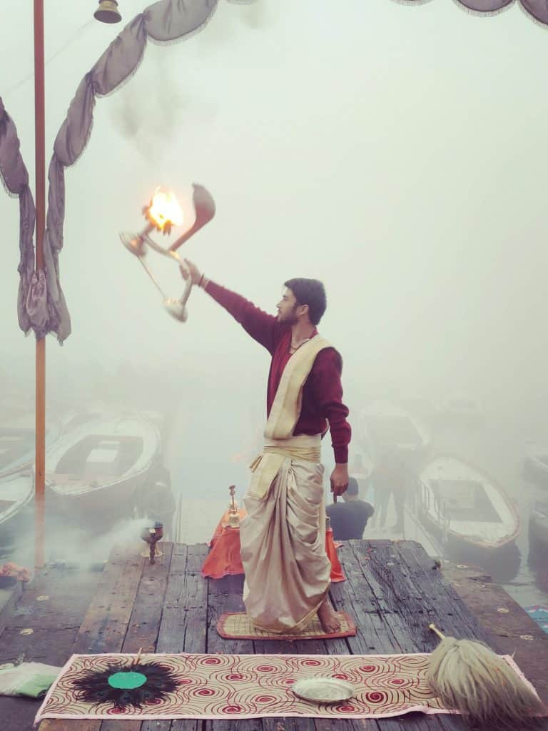 48 hours in Varanasi Dashashwamedh Ghat