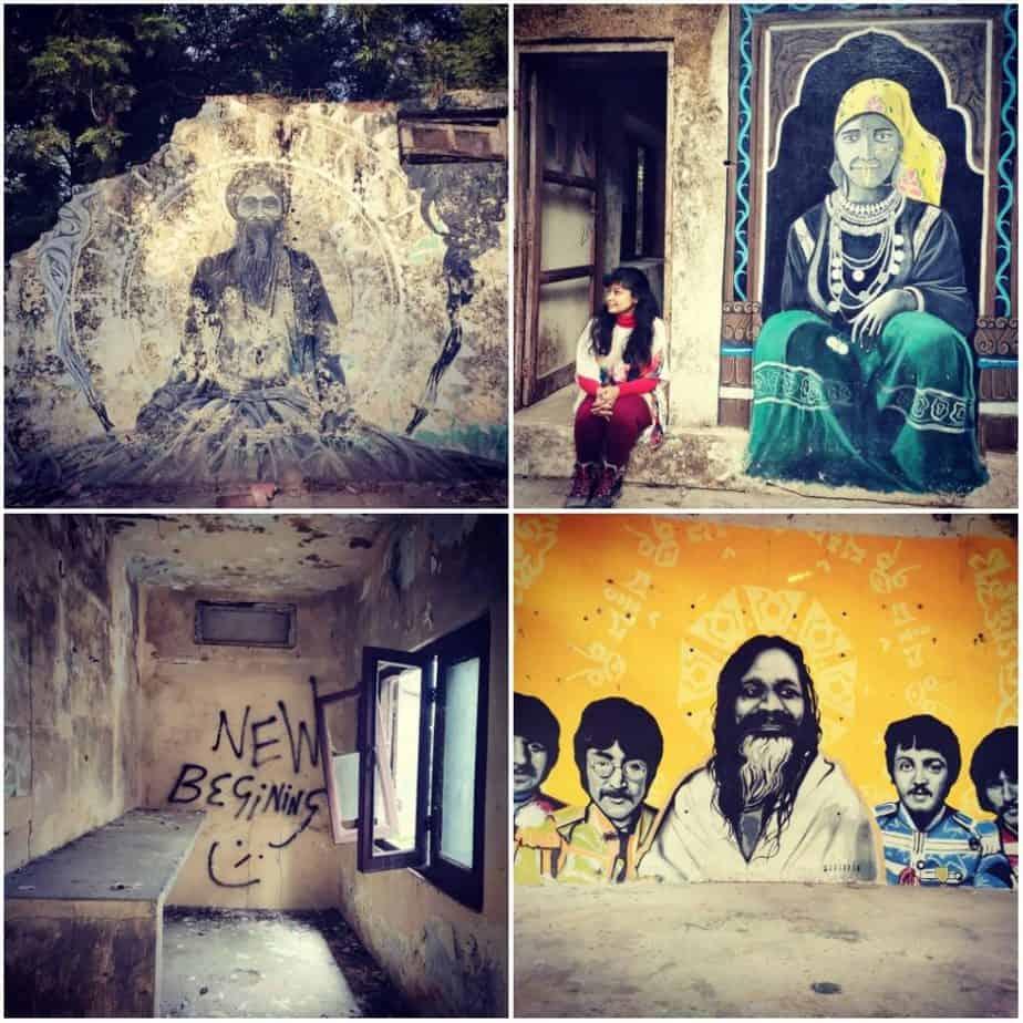 More Beatles Ashram artwork