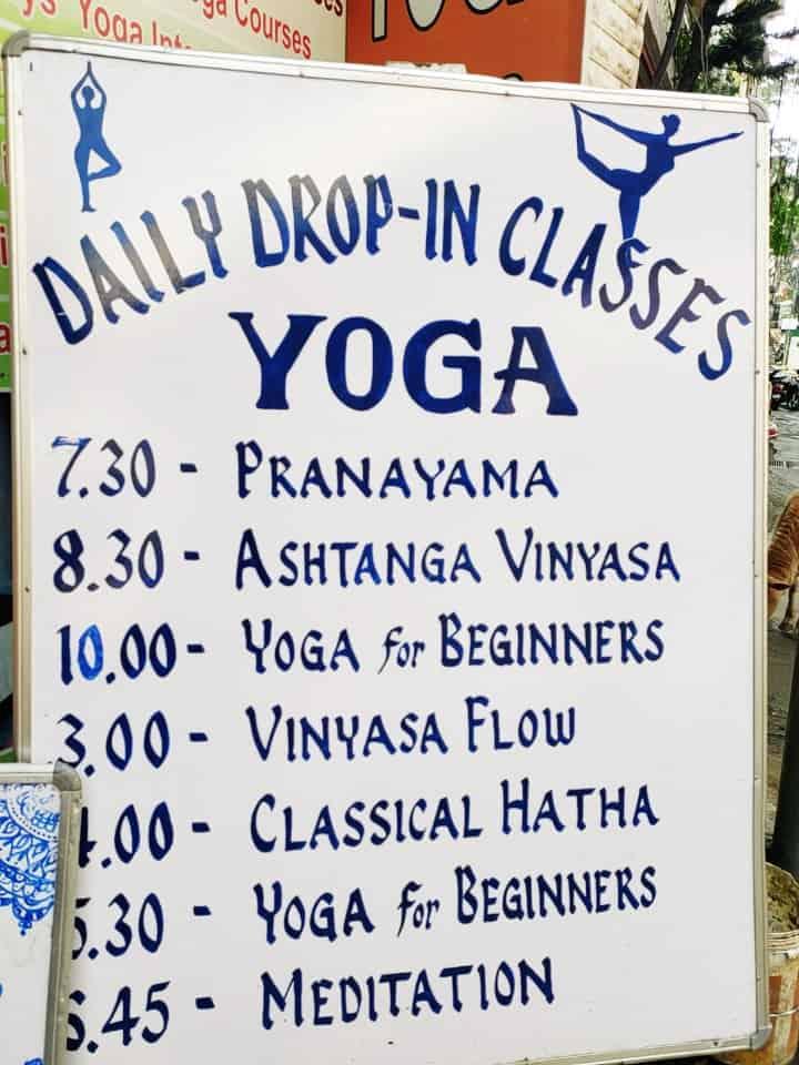 Yoga classes Rishikesh