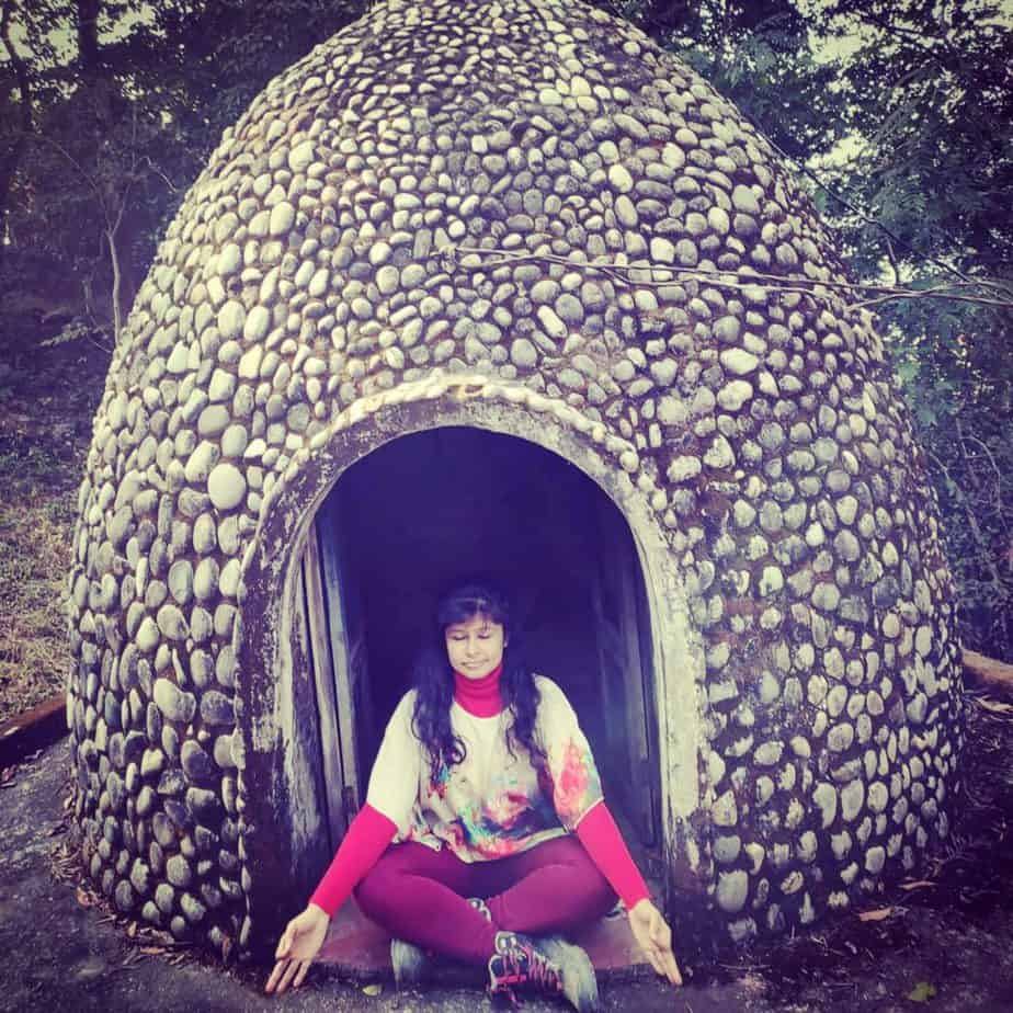 The Meditation Domes at Beatles Ashram