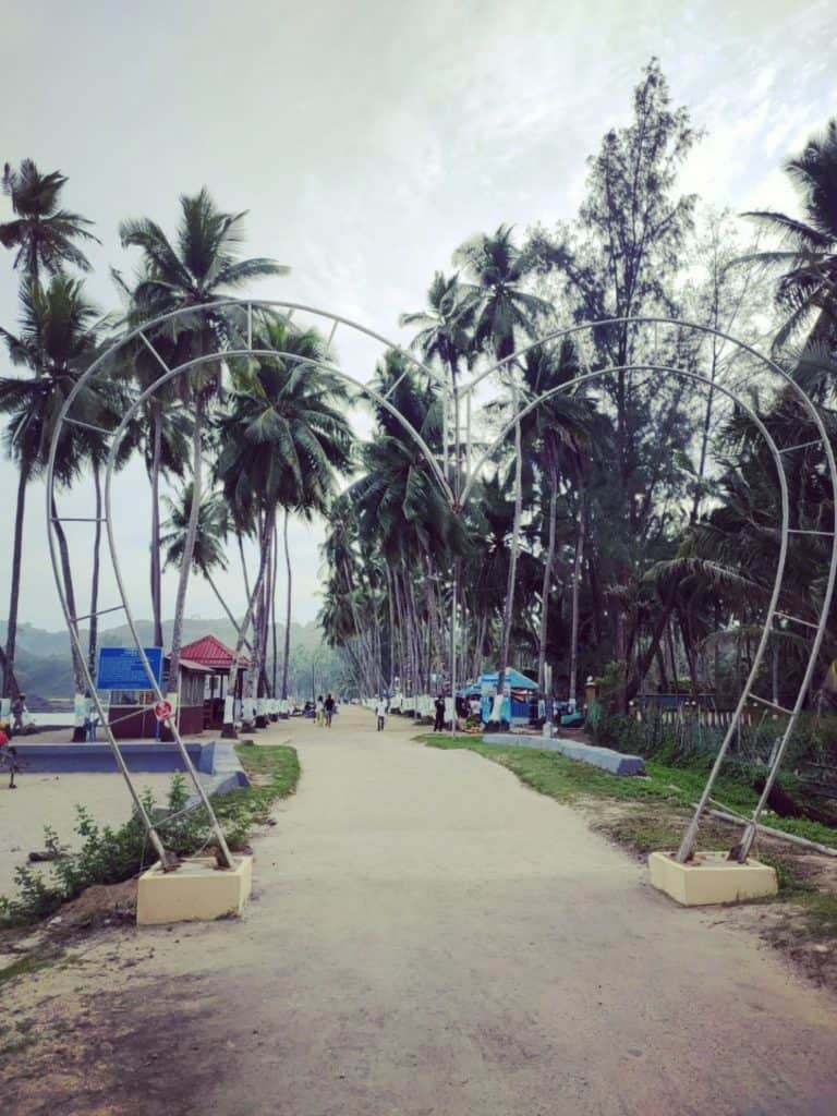4 day Andaman itinerary Corbyns Cove