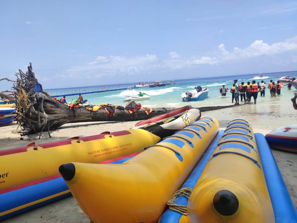 4 day Andaman itinerary Elephanta Beach Water Sports