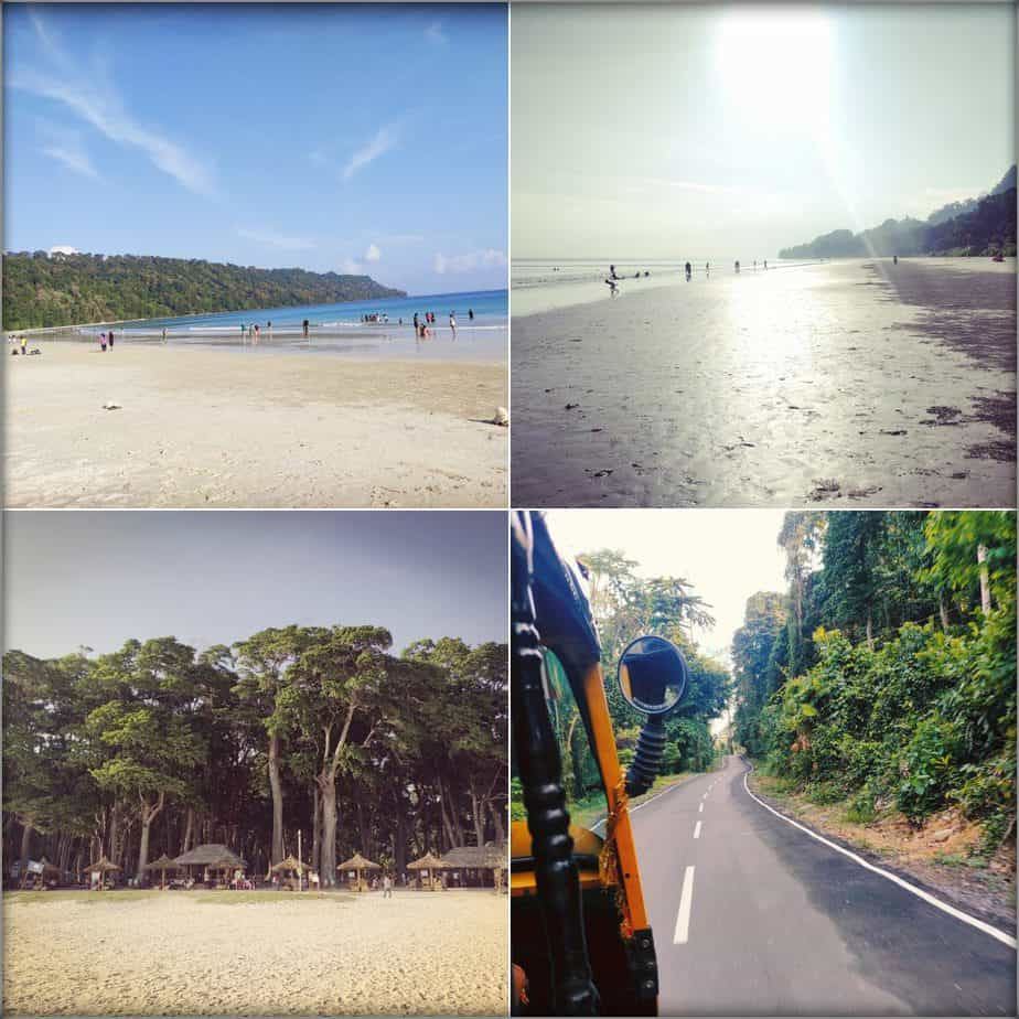 4 day Andaman itinerary Radhanagar beach
