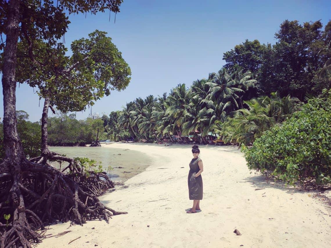 4 day Andaman itinerary Havelock Beach